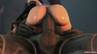 Prigioniera viene inculata da mostro umanoide